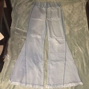 Brand new blue bell bottoms from Niki and Gabi